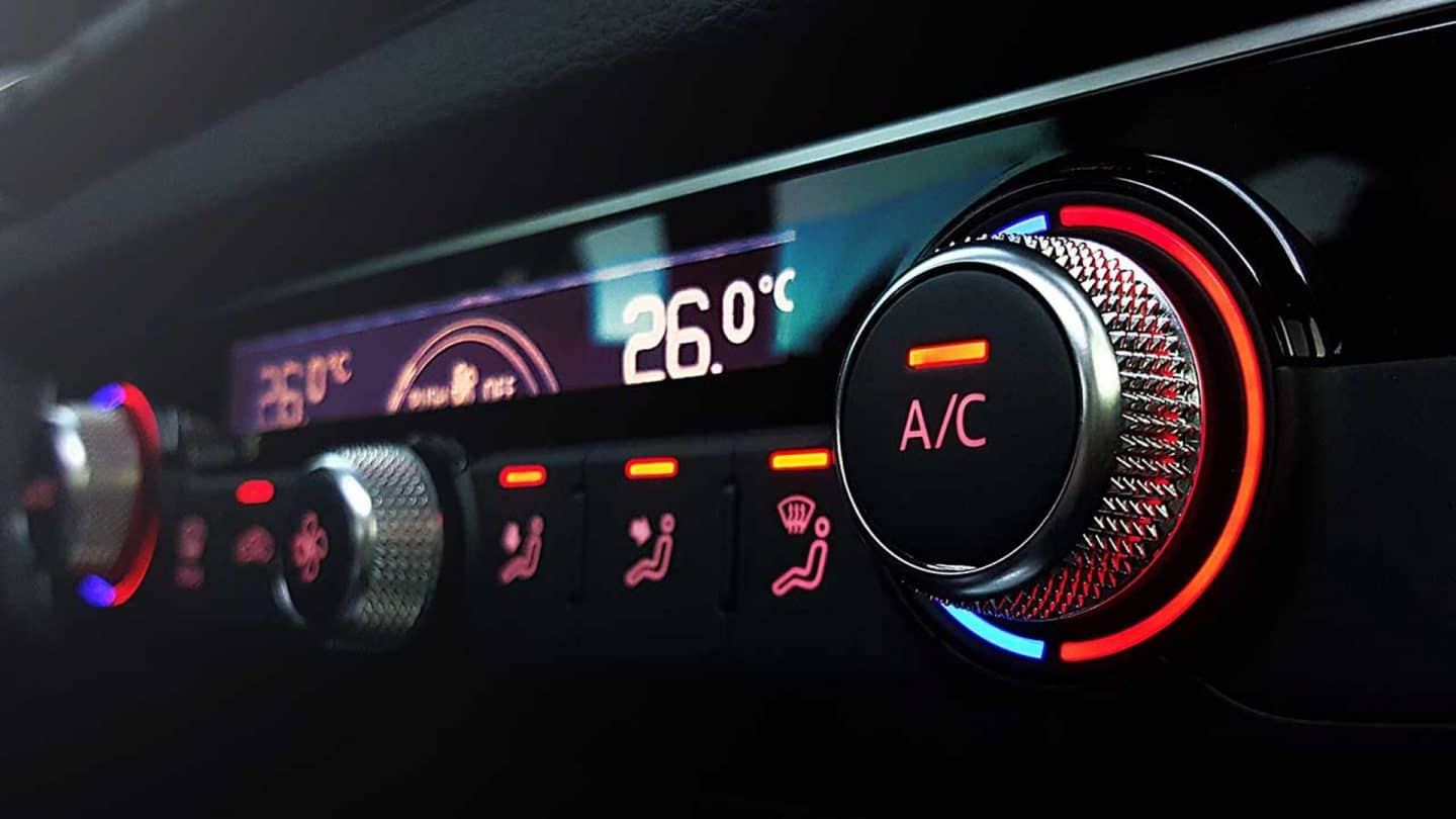 Air Conditioning at Hutchings Vehicle Services Bognor Regis