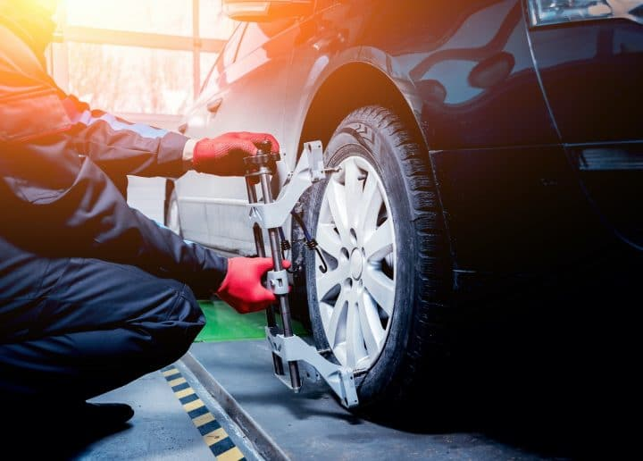 Wheel Alignment at Hutchings Vehicle Services